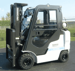 Unicarriers Forklift with cab