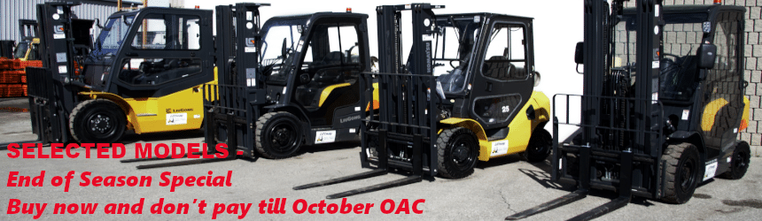 Cab Forklifts special